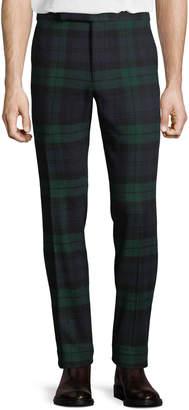 Ralph Lauren Men's Tartan Plaid Side-Strip Pants