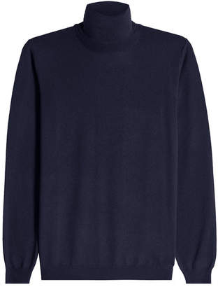 Zanone Virgin Wool Turtleneck Pullover