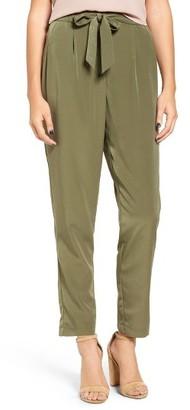 Women's Mimi Chica Tie Waist Pants $45 thestylecure.com