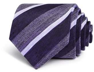 John Varvatos Heathered Stripe Classic Tie