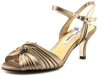 Nina Camille Women US 11 Gold Slingback Heel