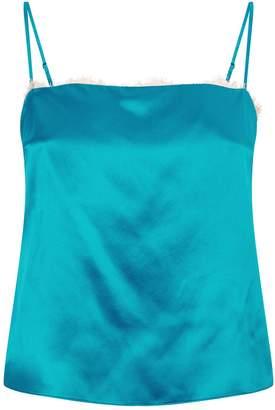 Fleur Du Mal Silk Camisole Top