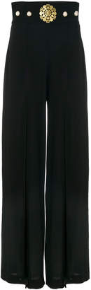 Stefano De Lellis double-layer palazzo pants