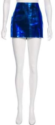 Versace A-Line Mini Skirt