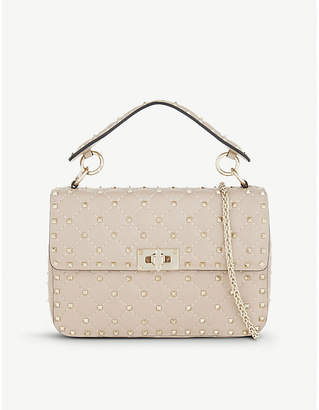 Valentino Rockstud medium leather shoulder bag