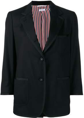 Thom Browne cropped sleeves blazer
