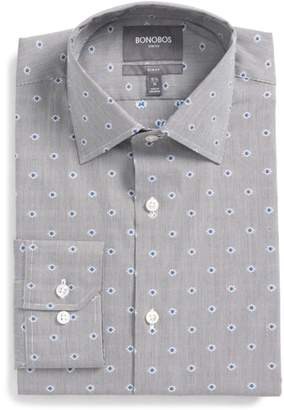 Bonobos Jetsetter Slim Fit Stretch Jacquard Dress Shirt