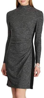 Chaps Women's Mockneck Jersey Sheath Dress