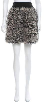Marc Jacobs Fur Mini Skirt w/ Tags