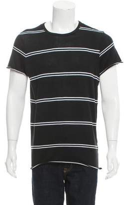 Amiri Striped Crew Neck T-Shirt w/ Tags