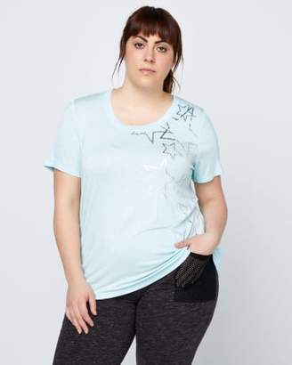 Addition Elle Plus Size Printed T-Shirt - ActiveZone