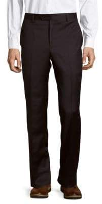 Micronosphere Solid Wool Trousers