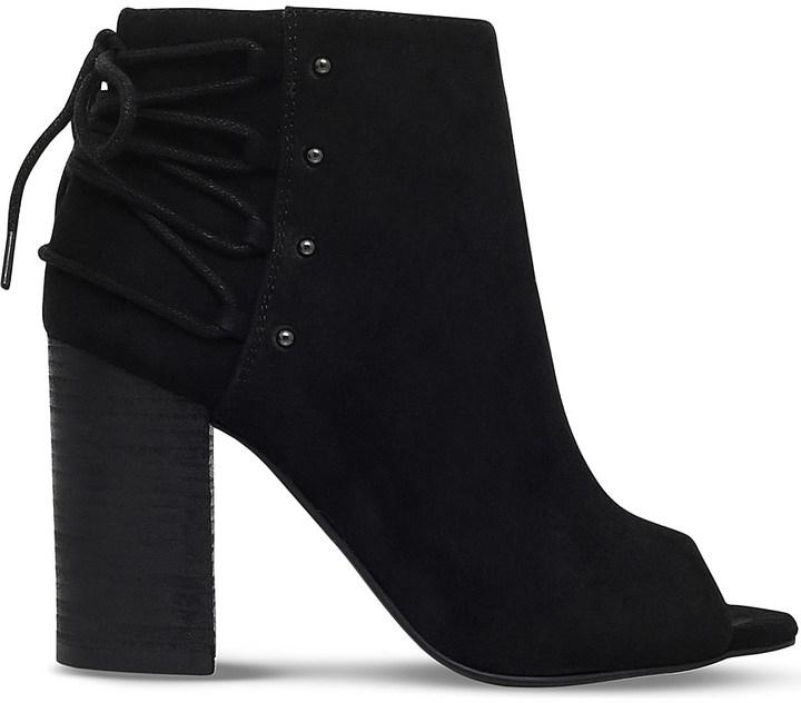 Nine WestNine West Britt faux-suede open-toe ankle boots