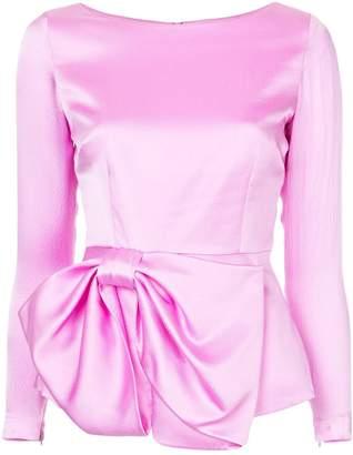 Safiyaa London bow ribbon blouse