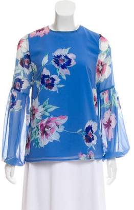 Yumi Kim Floral Long Sleeve Top