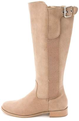 Kenneth Cole New York Unlisted Kenneth Col Spare Star Women US 7.5 Tan Knee High Boot