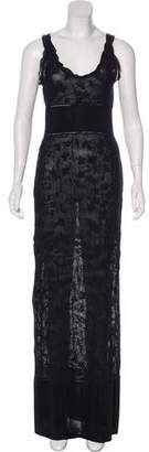 Chanel Knit Maxi Dress
