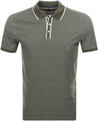 Ted Baker Marsmal Polo T Shirt Khaki