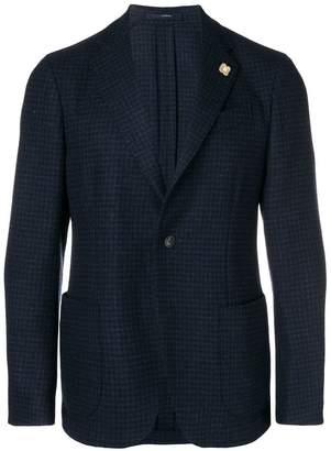 Lardini patterned blazer