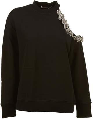 Christopher Kane Open Shoulder Sweatshirt