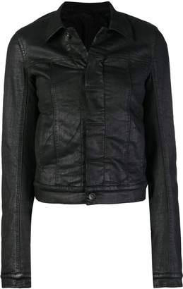 Rick Owens cropped fitted jacket