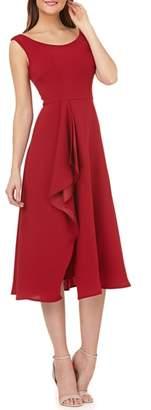Carmen Marc Valvo Cascade Dress