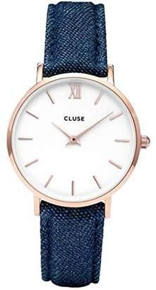 Cluse Unisex Watch CL30029, Multicolor (Rose Gold)
