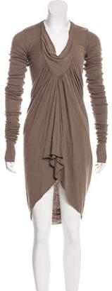 Rick Owens Knee-Length Wool Dress