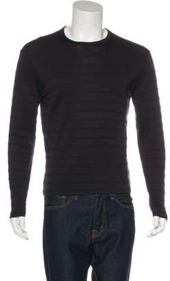 Armani Collezioni Striped Long Sleeve T-Shirt