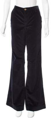 Tory Burch Mid-Rise Velvet Pants w/ Tags