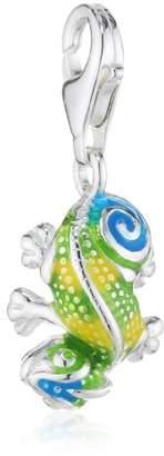 Heartbreaker Ladies'Charm 925 Sterling Silver Enamel Charms of Heartbreaker HB 436