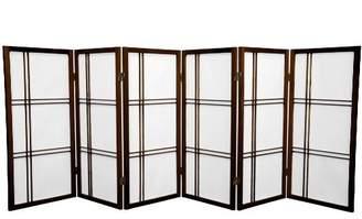 Oriental Furniture 3-Feet Cross Hatch Japanese Shoji Privacy Screen Room Divider