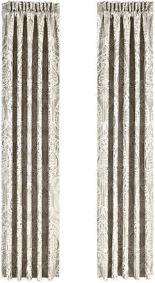 """J Queen New York Le Blanc 50"""" x 84"""" Pair of Window Panels"""