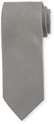 Brioni Micro-Chevron Silk Tie
