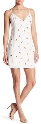 Honey Punch Cherry Printed Mini Dress