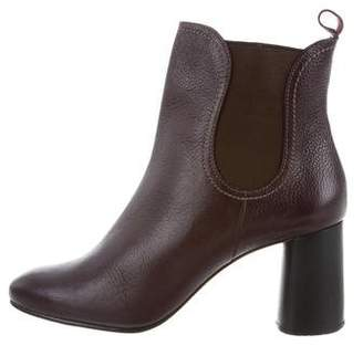 Rachel Comey Leather Round-Toe Ankle Boots w/ Tags