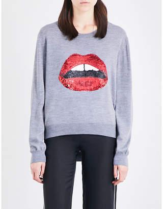 Markus Lupfer Joey sequin-embellished knitted jumper