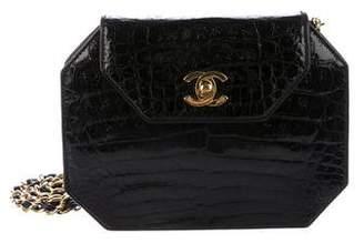 Chanel Alligator Flap Bag