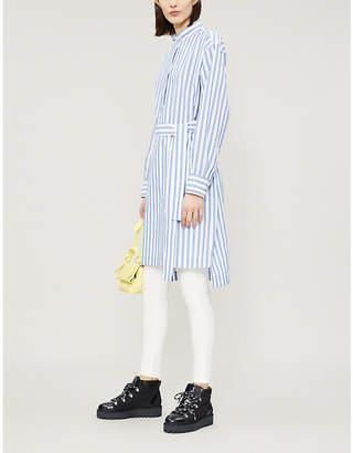 Acne Studios Derin striped cotton dress