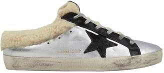 Golden Goose Superstar Sabot Shearling Sneakers