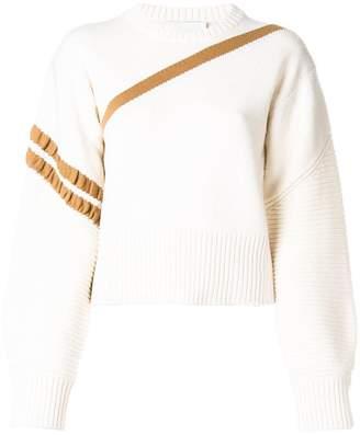 3.1 Phillip Lim asymmetric striped sweater