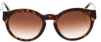 Stella McCartney Tortoiseshell Round Sunglasses