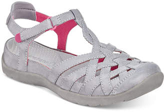 Bare Traps Florrie Rebound Technology Flat Sandals, Created for Macy's Women's Shoes