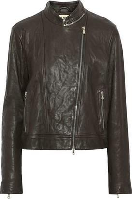 L'Agence Devon Leather Biker Jacket