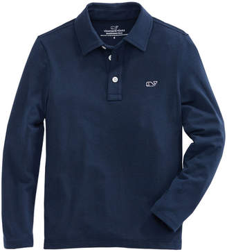 Vineyard Vines Boys Long-Sleeve Edgartown Polo