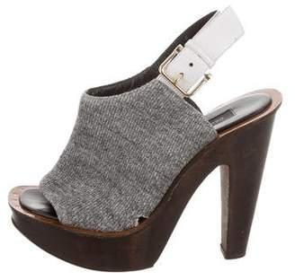 Derek Lam Platform Knit Sandals