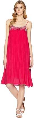 Johnny Was Lisa Babydoll Lined Dress Women's Dress