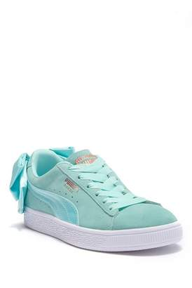 Puma Suede Bow Sneaker