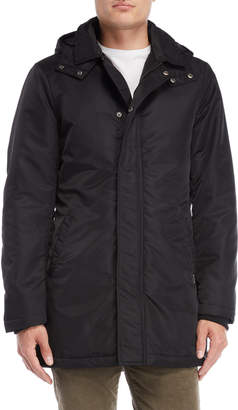 Gaudi' Gaudi Jeans Black Hooded Parka