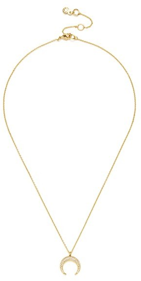 Women's Baublebar 'Semelle' Pendant Necklace & Chain (Set Of 2) 2